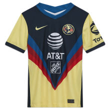 2020/21 Club America Home Yellow Fans Soccer Jersey