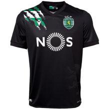 2020/21 Lisbon Away Black Fans Soccer Jersey