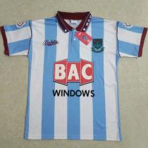 1991/92 West Ham Away Retro Soccer Jersey