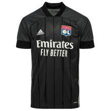2020/21 Lyon Away Black Fans Soccer Jersey