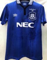 1995 Everton FA CUP FINAL Retro Soccer Jersey