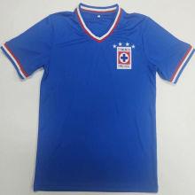 1974 Cruz Azul Home Blue Retro Soccer Jersey