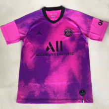 2020/21 PSG Paris Pink Training Soccer Jersey