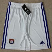 2020/21 Lyon White Pants Soccer