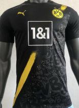 2020/21 BVB Away Black Player Soccer Jersey