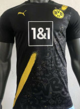 2020/21 BVB Away Black Player Soccer Jersey