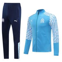 2020/21 Marseille Sky Blue Jacket Tracksuit