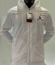 2020/21 Jordan PSG White Windbreaker