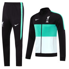 2020/21 Liverpool Green And White Jacket Tracksuit
