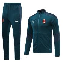 2020/21 AC Milan Blue Jacket Tracksuit