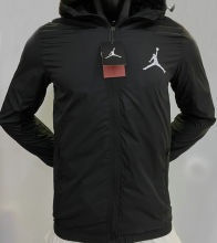 2020/21 Jordan PSG Black Windbreaker
