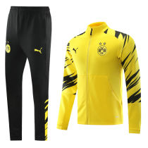 2020/21 BVB Black And Yellow Jacket Tracksuit