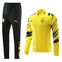 2020/21 Dortmund Black And Yellow Jacket Tracksuit