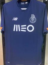 2020/21 Porto 1:1 Quality Away Black Fans Soccer Jersey