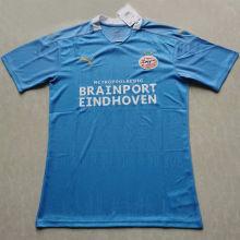 2020/21 PSV Away Blue Fans Soccer Jersey