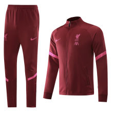 2020/21 Liverpool Red Jacket Tracksuit