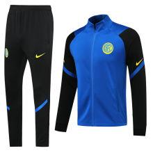 2020/21 Inter Milan Blue Jacket Tracksuit