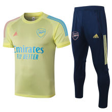 2020/21 Arsenal Light Yellow Training Tracksuit