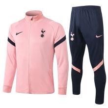 2020/21 Tottenham Pink Jacket Tracksuit