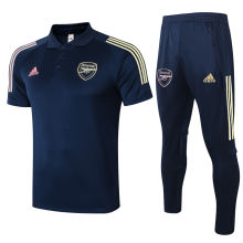 2020/21 Arsenal Royal Blue Polo Tracksuit