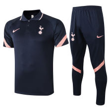 2020/21 Tottenham Royal Blue Polo Tracksuit