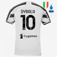 DYBALA #10 JUV 1:1 Quality Home Fans Soccer Jersey 2020/21