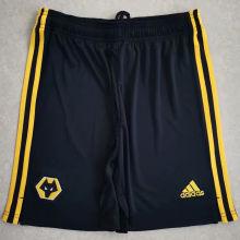 2020/21 Wolves Black Shorts Pants