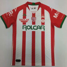 2020/21 Necaxa Home Red And White Fans Soccer Jersey