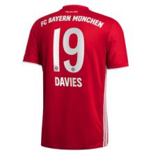 DAVIES #19 BFC Home 1:1 Fans Soccer Jersey 2020/21
