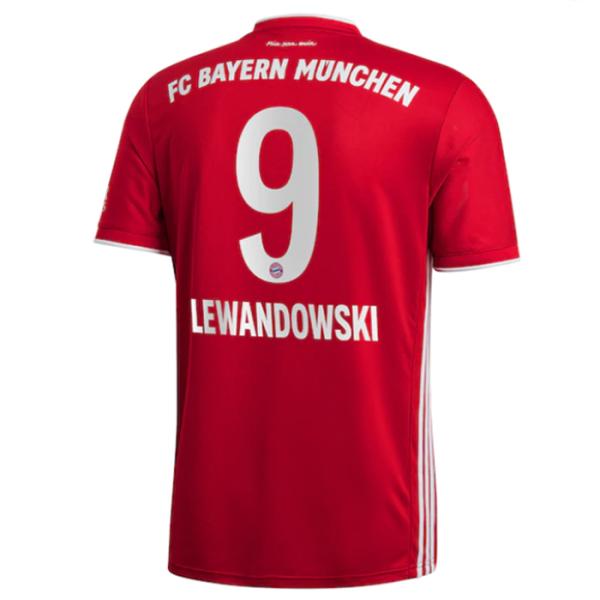 LEWANDOWSKI #9 BFC Home 1:1 Fans Soccer Jersey 2020/21