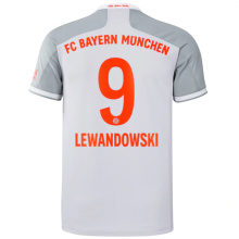 LEWANDOWSKI #9 BFC Away 1:1 Fans Soccer Jersey 2020/21