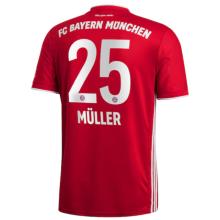 MULLER #25 BFC Home 1:1 Fans Soccer Jersey 2020/21