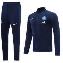 2020/21 PSG Paris Blue Jacket Tracksuit