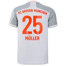 MULLER #25 BFC Away 1:1 Fans Soccer Jersey 2020/21