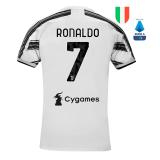 RONALDO #7 JUV 1:1 Home Fans Soccer Jersey 2020/21