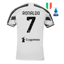 RONALDO #7 JUV 1:1 Quality Home Fans Soccer Jersey 2020/21