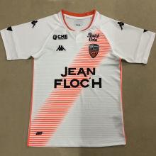 2020/21 Lorient Away White Fans Soccer Jersey