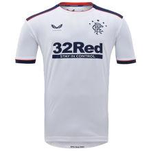 2020/21 Rangers Away White Fans Soccer Jersey