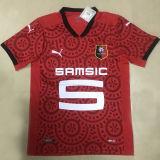 2020/21 Rennais Home Red Fans Soccer Jersey