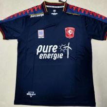 2020/21 Twente Away Black Fans Soccer Jersey
