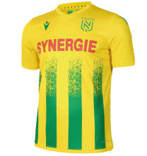 2020/21 Nantes Home Yellow Fans Soccer Jersey