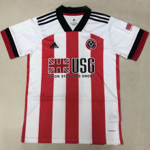 2020/21 Sheffield Home Red Fans Soccer Jersey