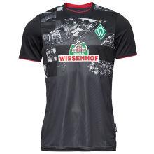 2020/21 Werder Bremen Away Black Fans Soccer Jersey