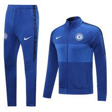 2020/21 Chelsea Blue Jacket Tracksuit Full Sets