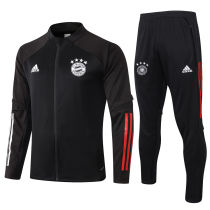 2020/21 Bayern Munich Black Jacket Tracksuit