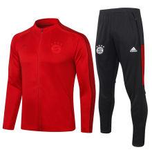 2020/21 Bayern Munich Red Jacket Tracksuit