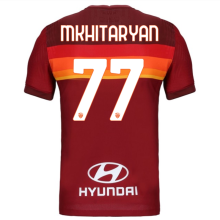 MKHITARYAN #77 AS RM 1:1 Home Red Fans Soccer Jersey 2020/21