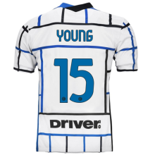 YOUNG #15 Inter Milan 1:1Away Fans Soccer Jersey 2020/21 (Have DRIVER)