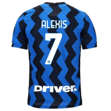 ALEXIS #7 Inter Milan 1:1 Home Fans Soccer Jersey 2020/21 (Have DRIVER)