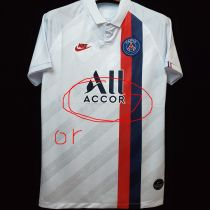 2019/20 PSG 1:1 Quality White Away Fans Soccer Jersey